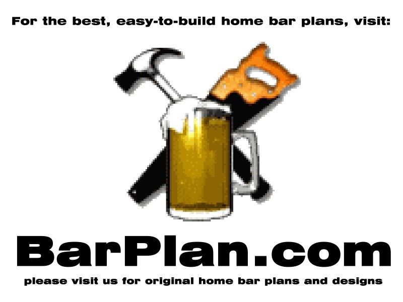 Easy Home Bar Plans - Designs and Ideas to Build Home Bars