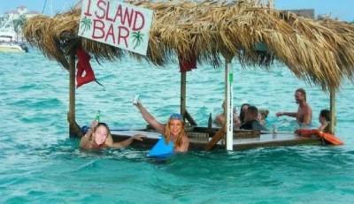 swim up bar design