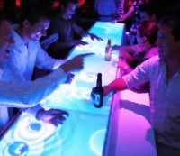 Cool Lighted Bar Top