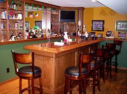 Green and Gold Classic Bar