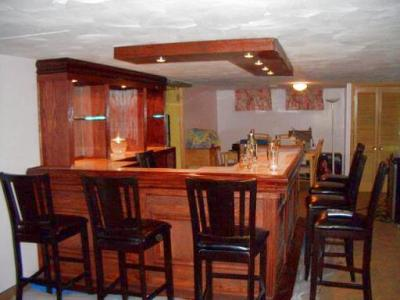 peggys bar completed home bar project