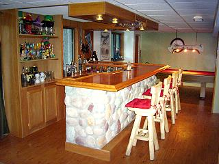 Captivating Northwoods Bar Left Side