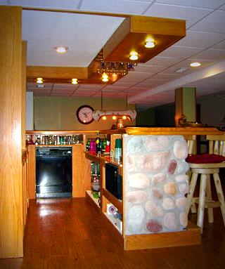 Northwoods Bar Side