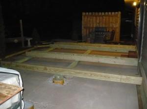 setting foundation framing boards