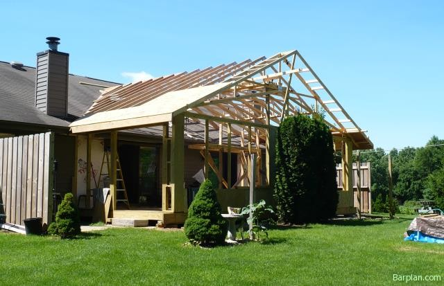 Gable roof room addition pictures to pin on pinterest for Roof addition