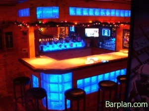 Cool Basement Bar
