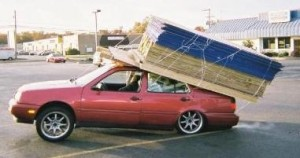 Don't overload your car