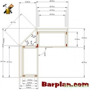 5 reasons to use bar plans easy home bar plans Bar floor plans designs for free