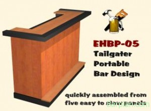 tailgate party bar