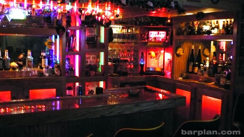 photo of a dream home bar