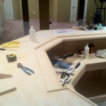 bar construction in progress