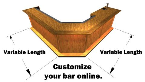 Get The Perfect Fit. Custom Bar Design