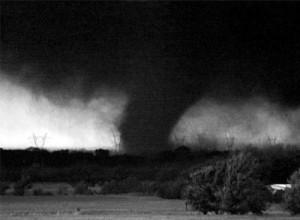 approaching tornado