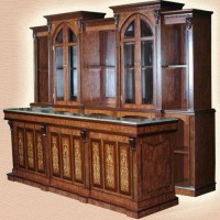 Gothic Bar Back Design