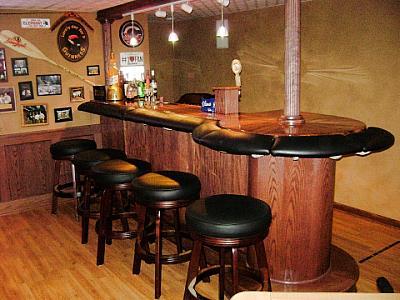padded bar arm rail
