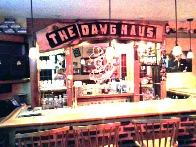 the Dawg House Basement Bar Pub