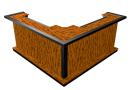 portable l-shaped bar
