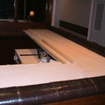 padded arm rail