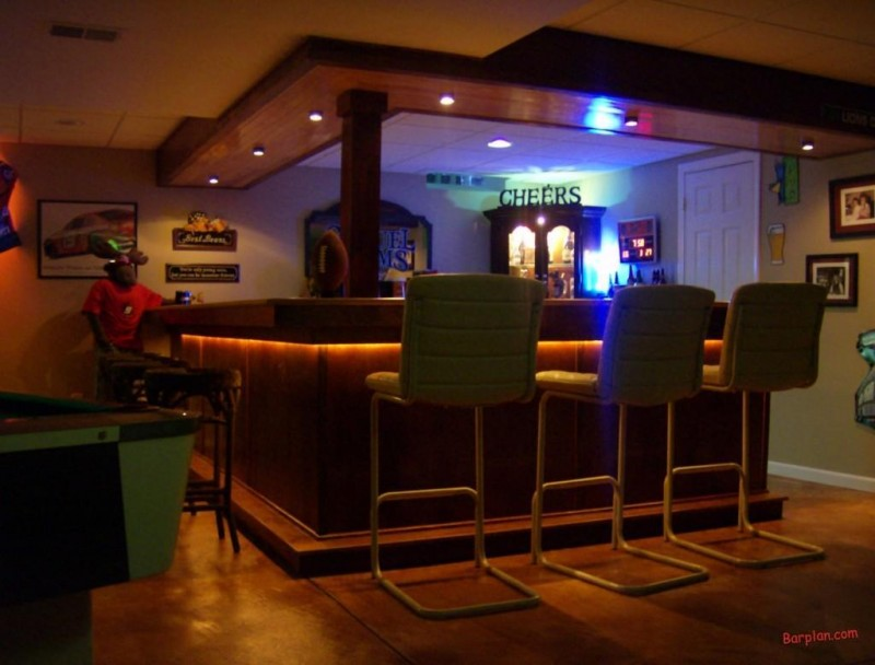 Basement Sports Bar Ideas Unique Home Bar Ideas Pictures to pin on ...