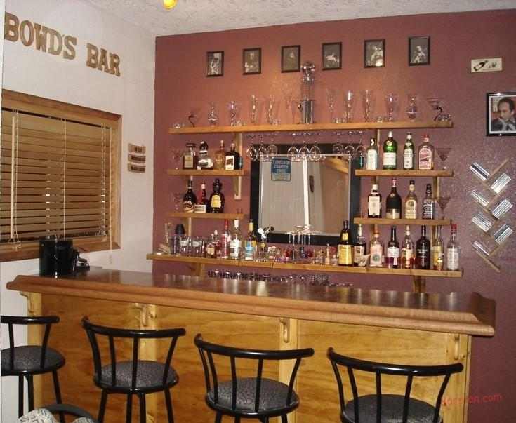 Ehbp 01 Basic Bar Design Easy Home Bar Plans