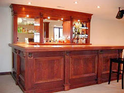 EHBP-10 Combo Wet Bar Project | Easy Home Bar Plans