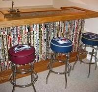 hockey stick bar