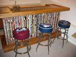 hockey stick bar