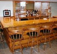 Pine Log Bar