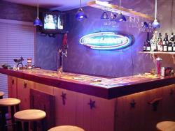 L-shaped bar