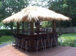 EHBP-20 Tiki Bar Hut Design 2