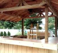 Party Hut Construction