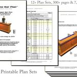 home bar construction plans