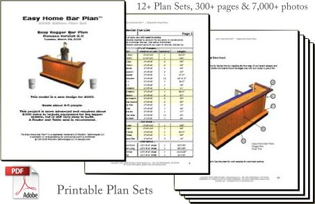 Home bar construction 101 for Home bar construction plans free