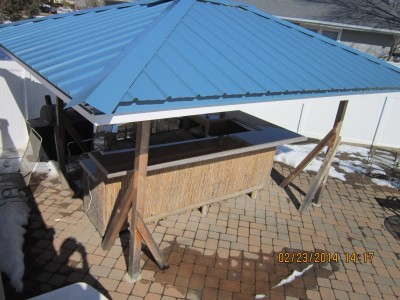 gazeebo roof bar