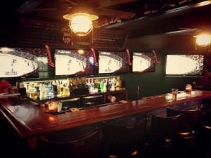 sports bar layout