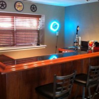 wet bar workspace
