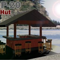 party hut rendering