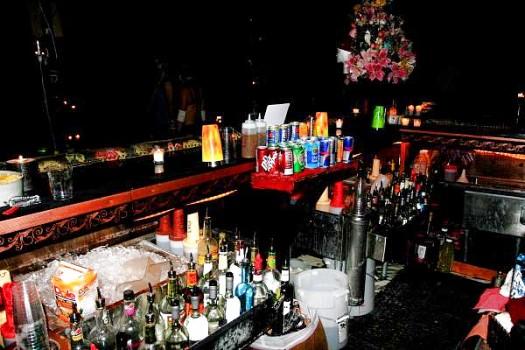 bartenders workspace