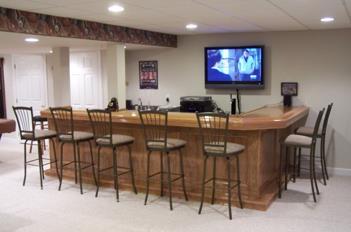 Home Sports Bar Plans