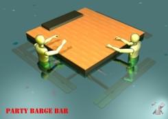 DIY Floating Bar Concept