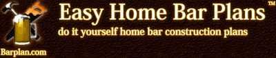 Easy Home Bar Plans