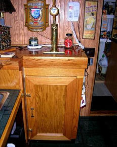 draft beer tapper