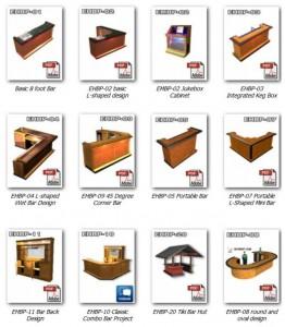 bar plans catalog