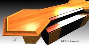 hexagon bar design