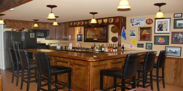 classic home bar