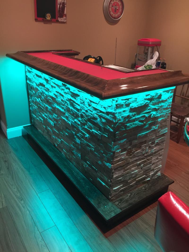 green led bar lights