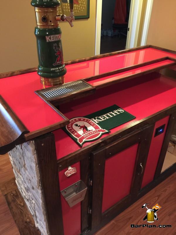 coca-cola wet bar