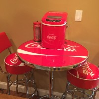 coca cola bar table