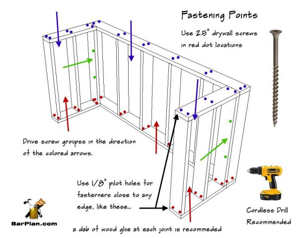 Free Bar Plan Easy Home Plans
