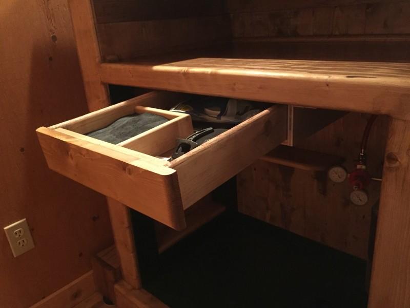 added drawer